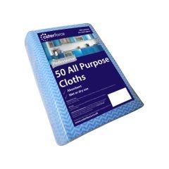 Blue All Purpose Cloth Pack of 50