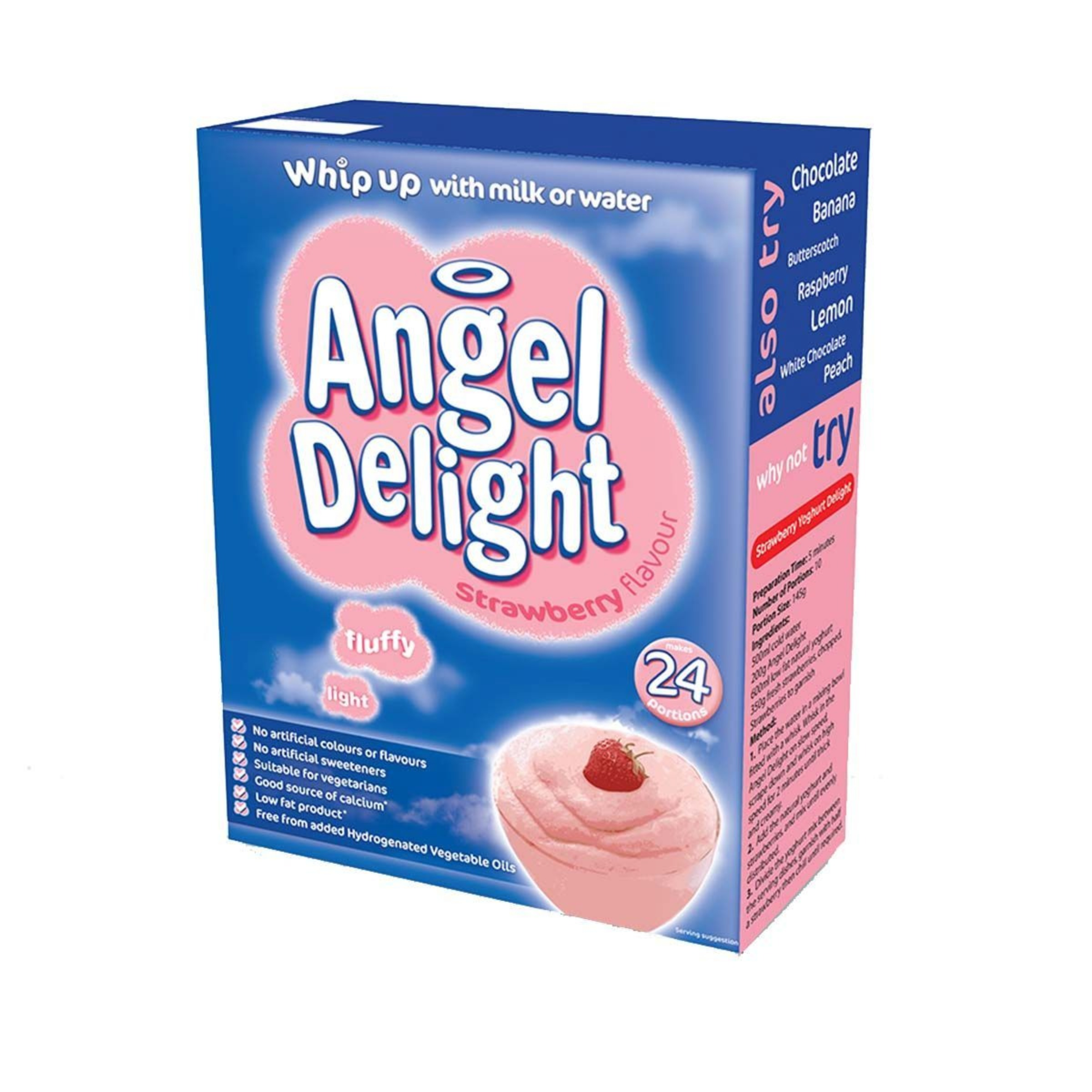 Strawberry Angel Delight 1x600g