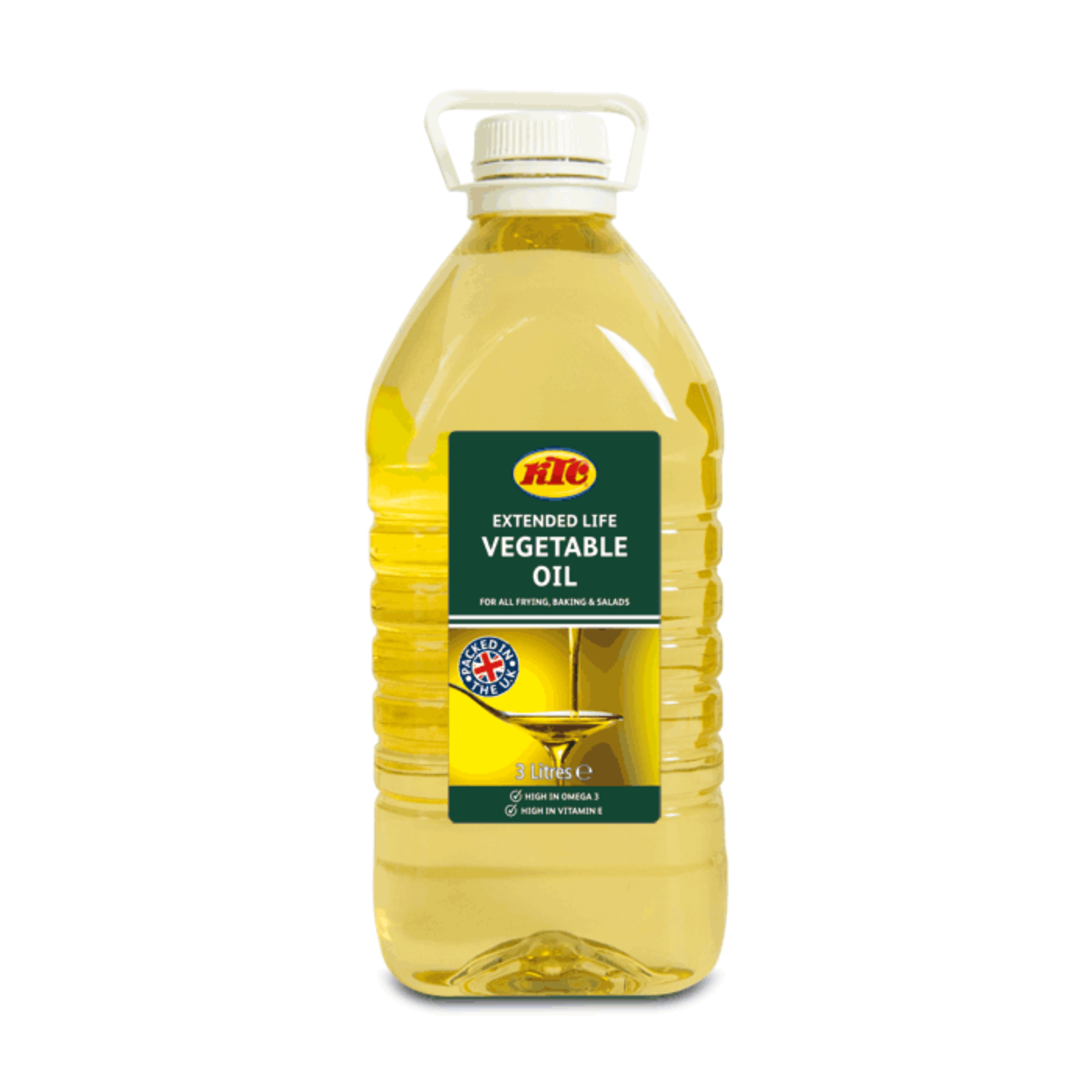 KTC Vegetable Oil 1x3ltr