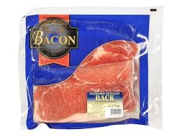 Value Back Bacon 4 Packs x 2.27kg - Frozen