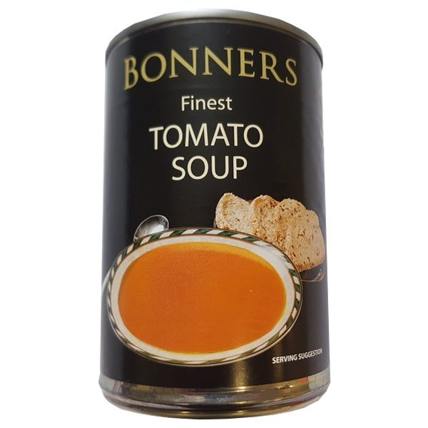 Bonners Finest Tomato Soup 400g - 2 for £1