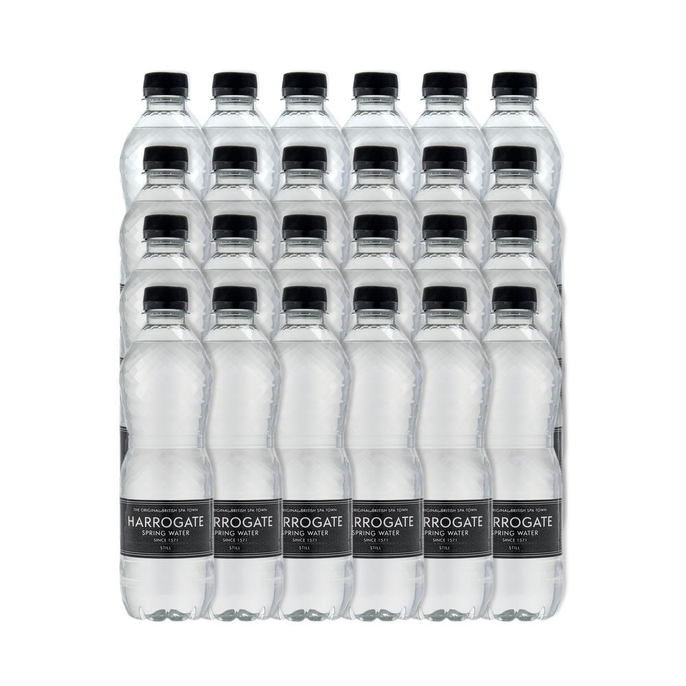 Harrogate Spa Sparkling Mineral Water Case of 24x500ml