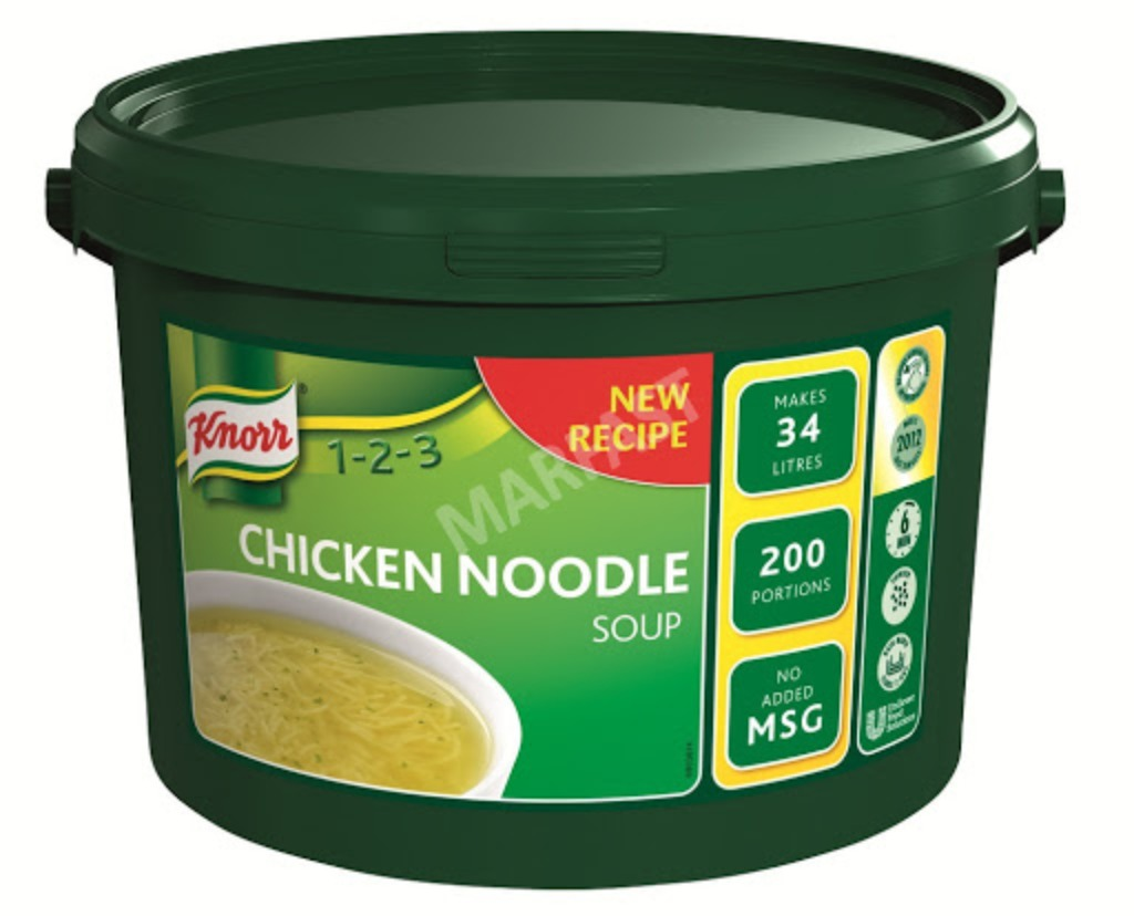 Knorr Chicken Noodle Soup Mix 1x200ptn