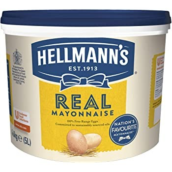 Hellman's Real Mayonnaise 5ltr Tub