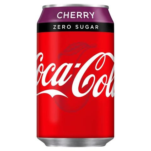 Cherry Coke Zero Cans 24x330ml