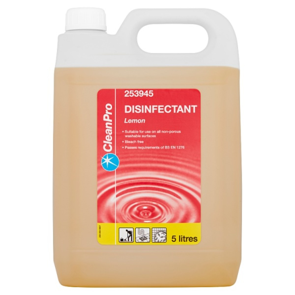 Lemon Disinfectant 1x5ltr