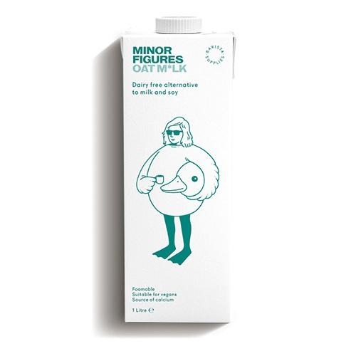 Minor Figures Oat Milk 1ltr