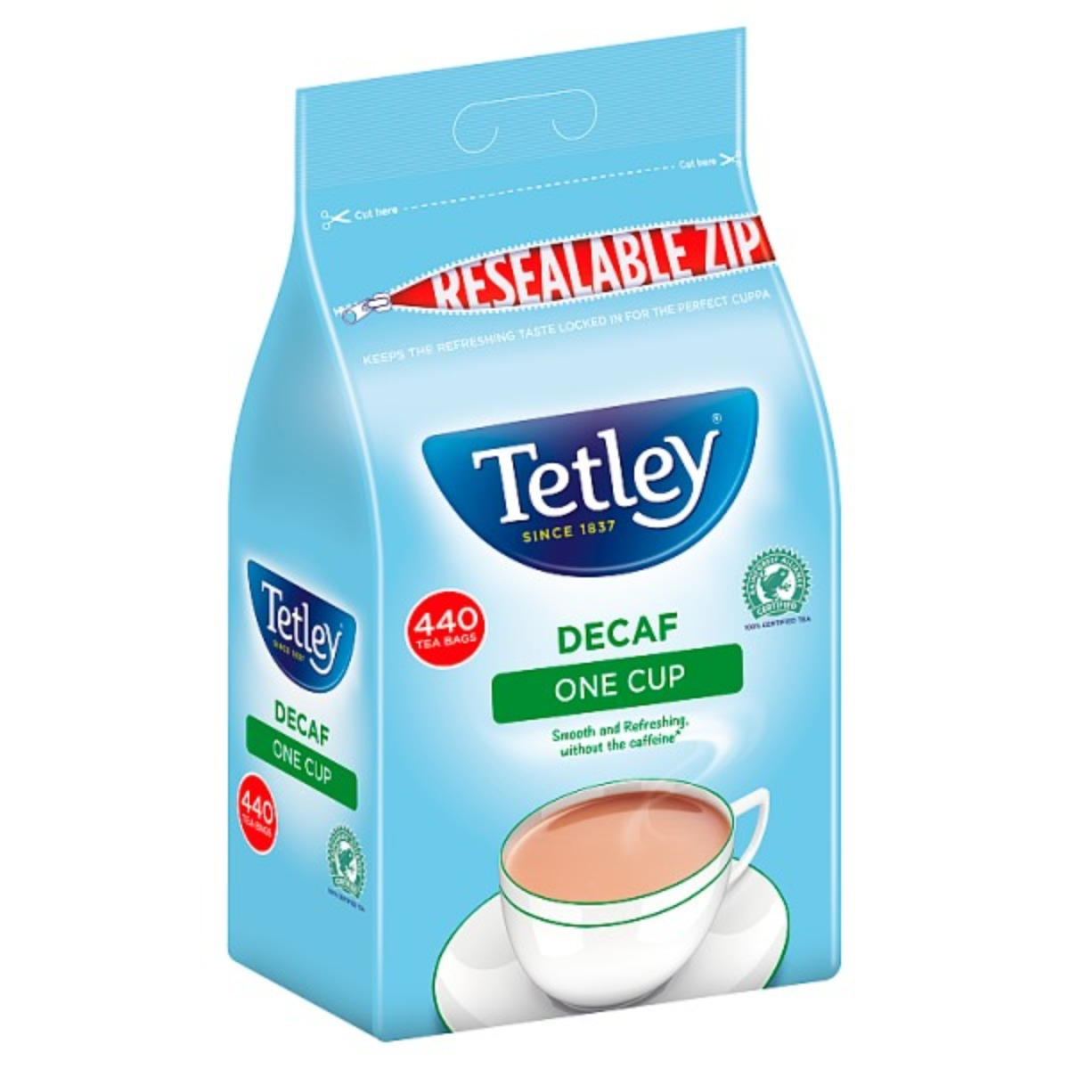 Tetley Decaf Tea Bags 1x440