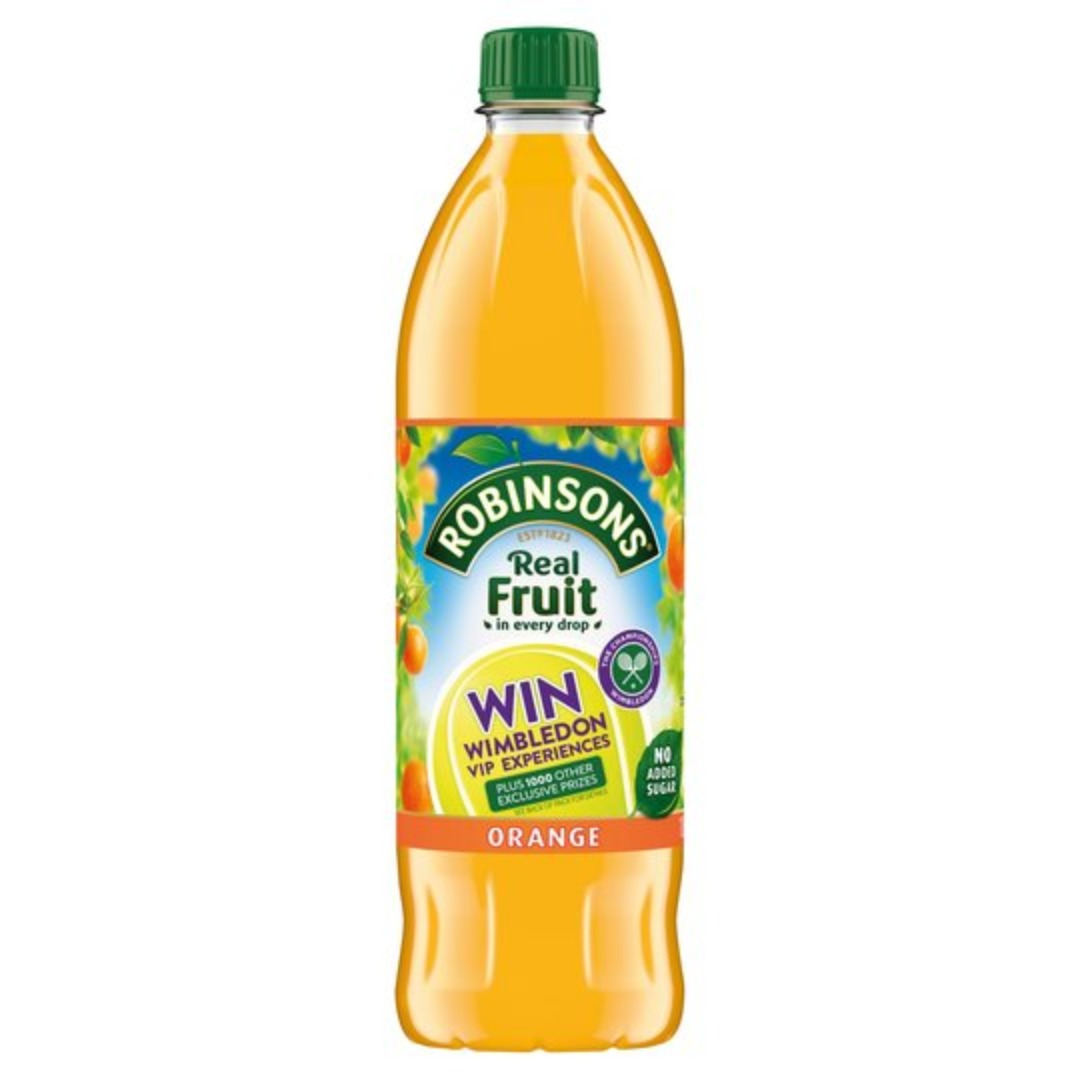 Robinsons Orange Cordial - Sugar Free 1x1ltr