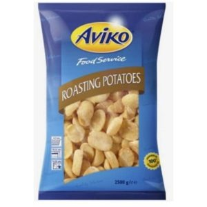 Aviko Baby Roast Potatoes 1x2.5kg Bag