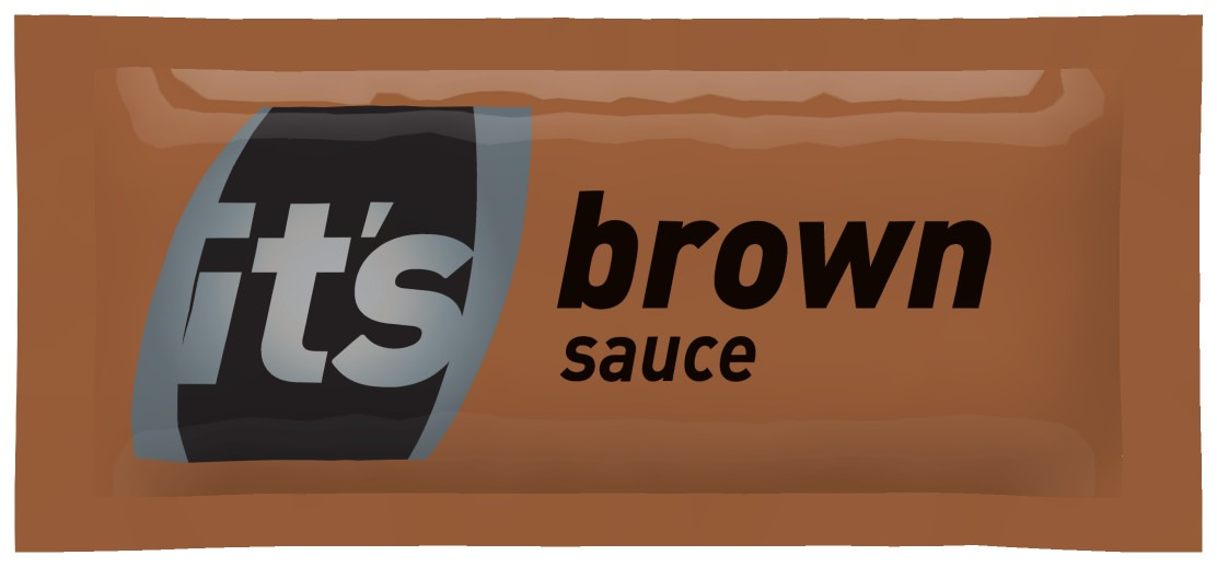 Brown Sauce Sachets 1x200