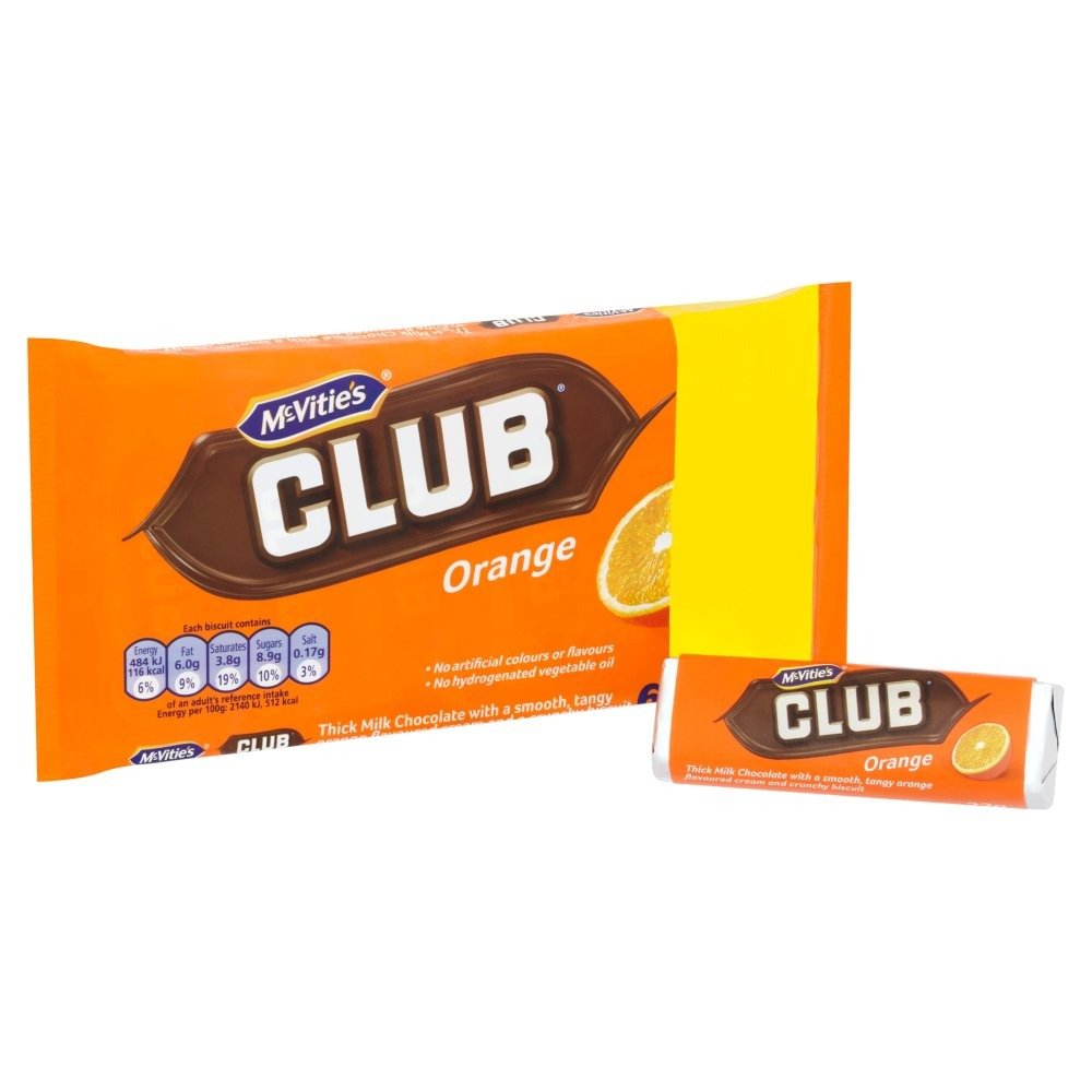Jacobs Club Orange 6 Pack