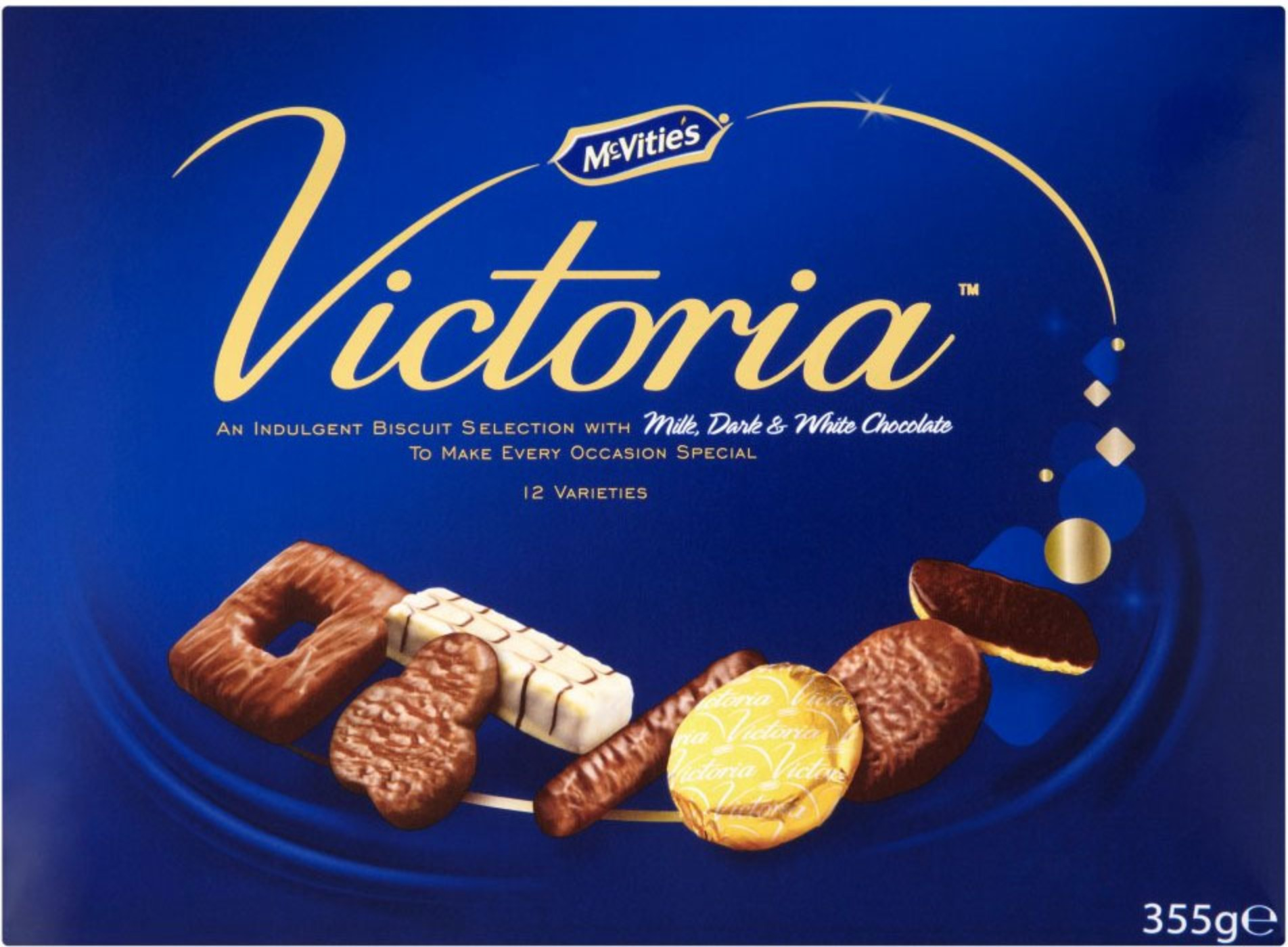 Mcvities Victoria Biscuit Selection 1x825g