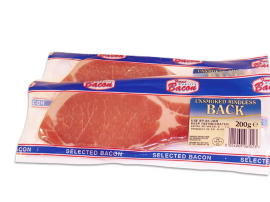 Finest Selected Back Bacon 1x400g