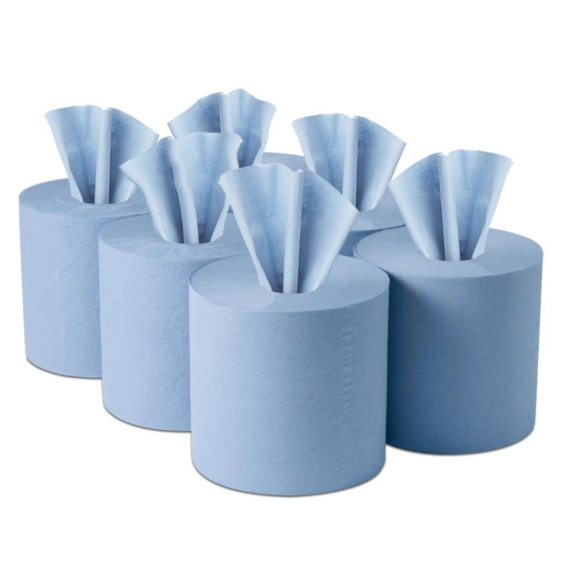 Blue Centrefeed Rolls 1x6