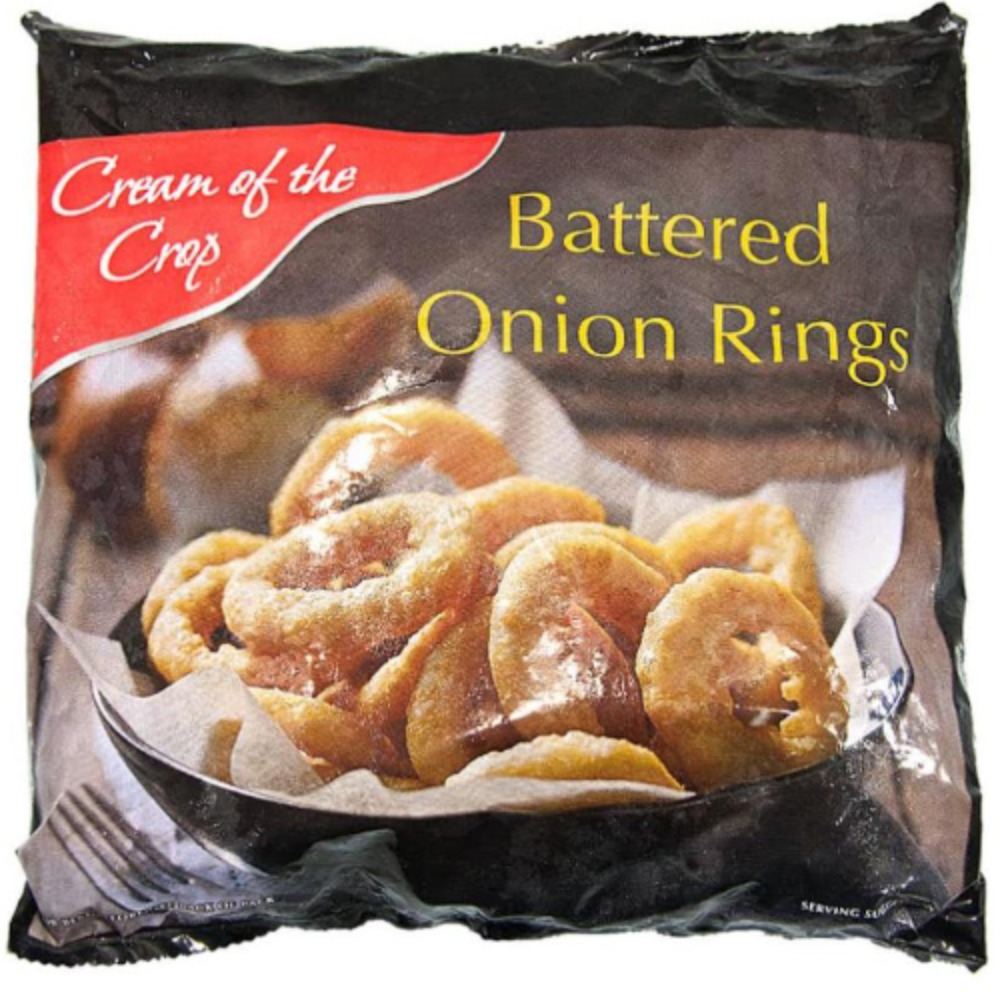 Battered Reformed Onion Rings 1x450g