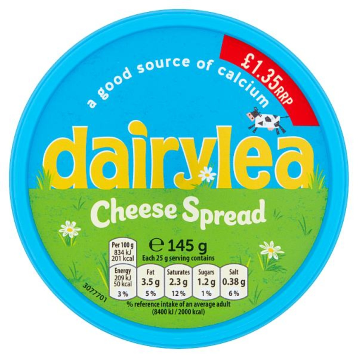 Dairylea Cheese Spread 1x145g
