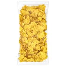 Lightly Salted Tortilla Chips - Case of 12x500g Bags