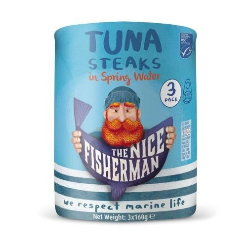 The Nice Fisherman Tuna Chunks in Brine 3x160g