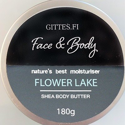 Flower lake body butter