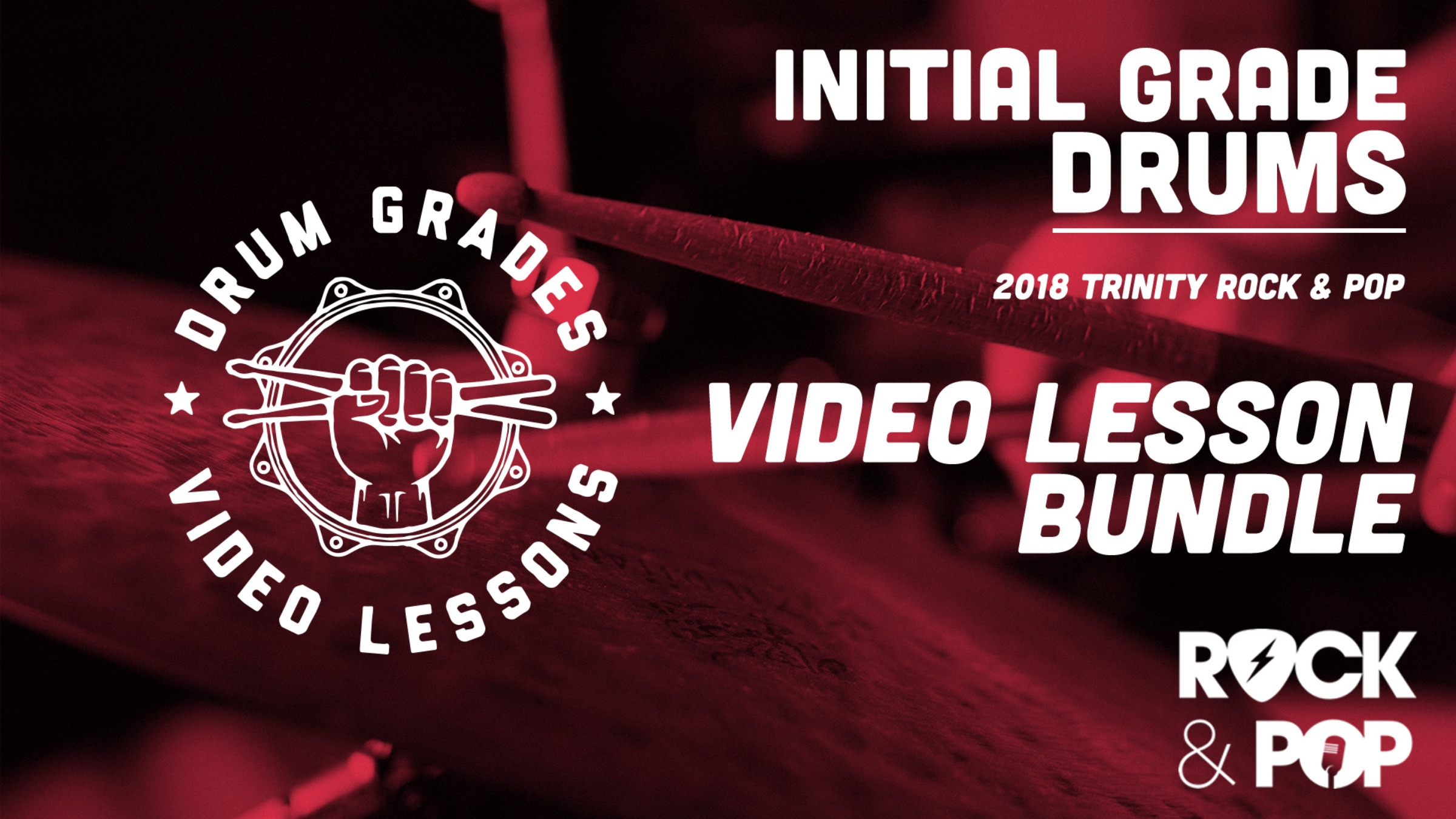 Initial Grade - Video Lesson Bundle