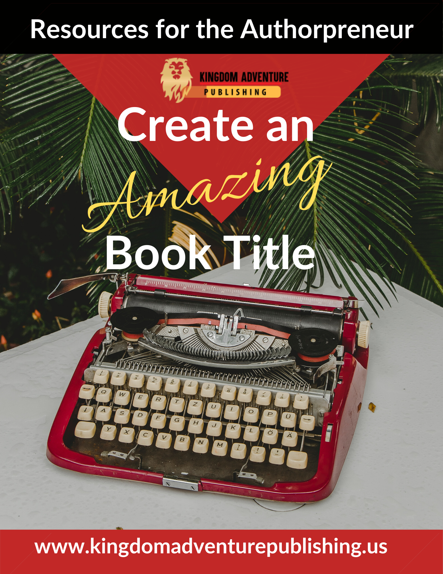 Create an Amazing Book Title