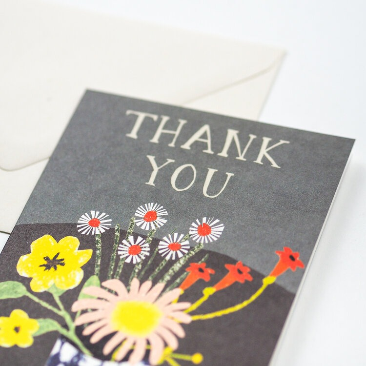 Floral Thank You card by Hadley Paper Goods