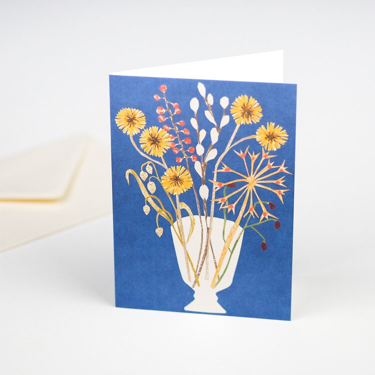 Glass Vase Card by Hadley Paper Goods
