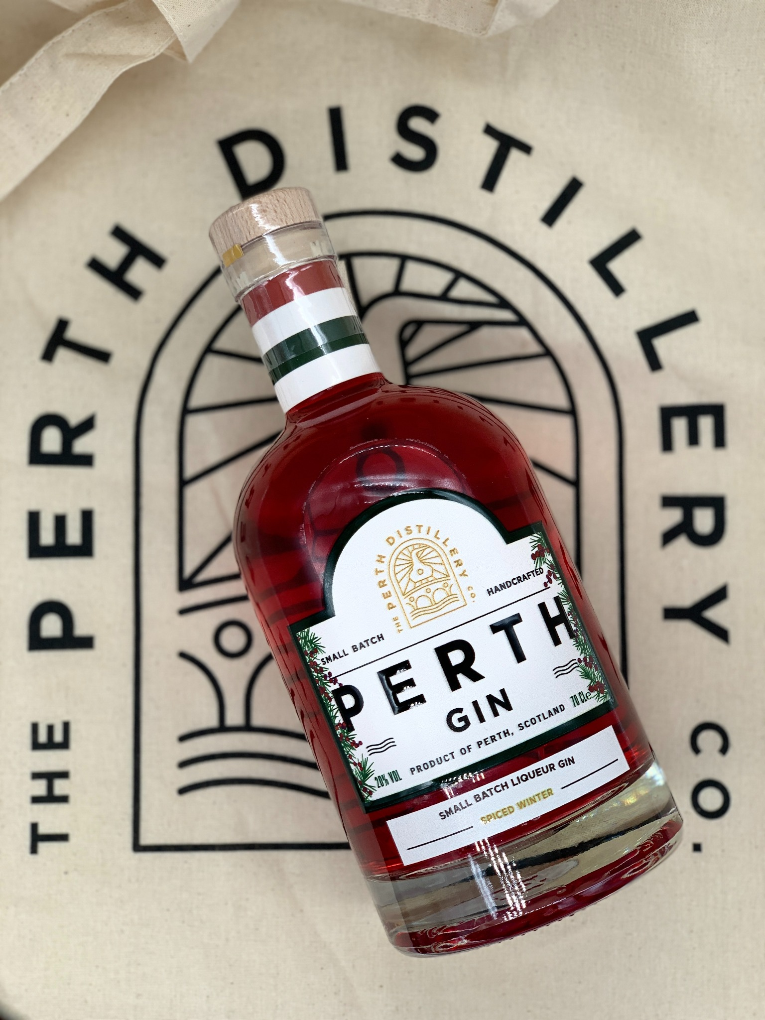 Perth Gin Winter Spiced Gin Liqueur 70cl - MOTHERS DAY Delivery FRIDAY 12th March 2021