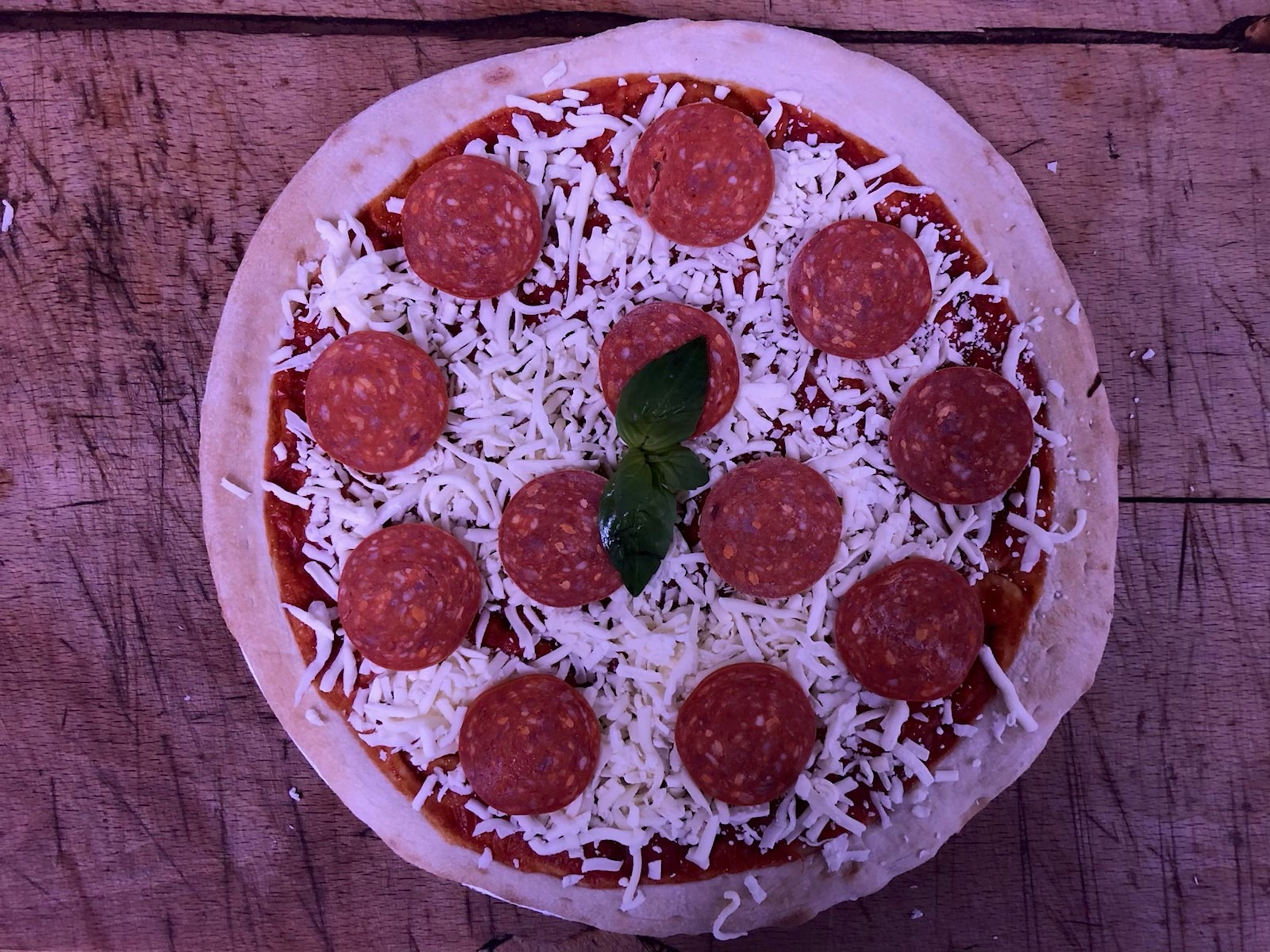 Slater's Home Made Sourdough Pizza - The Pepperoni