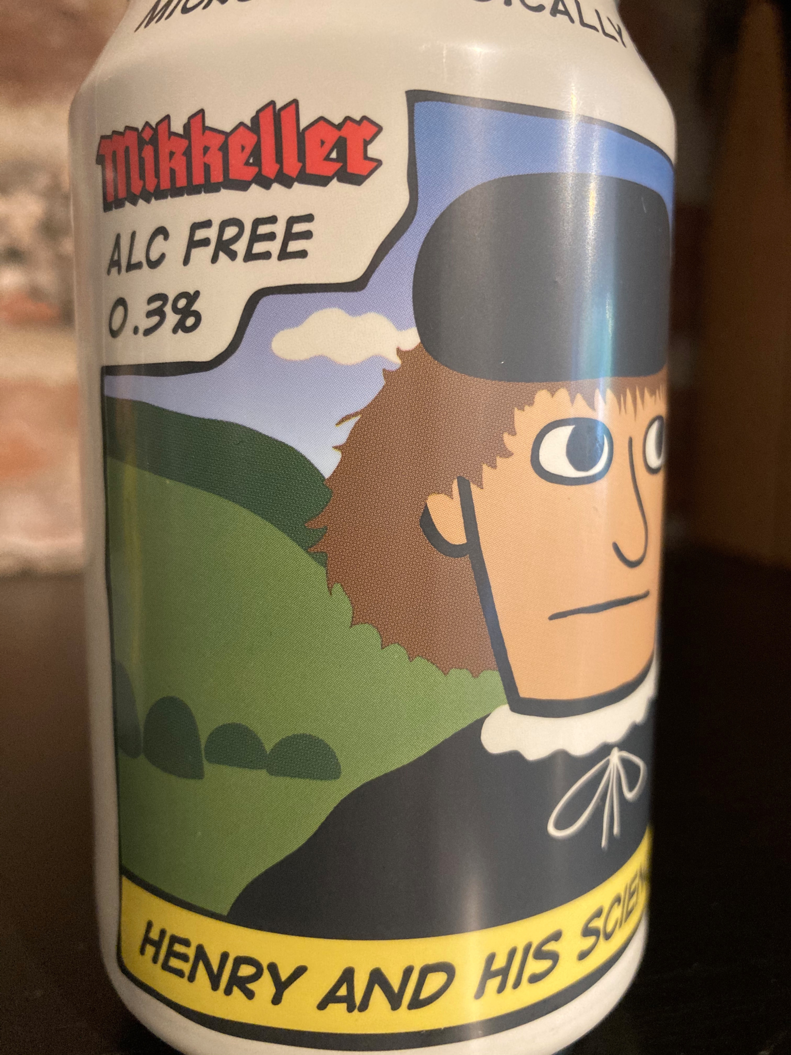 Mikkeller Henry and his Science 33cl Can