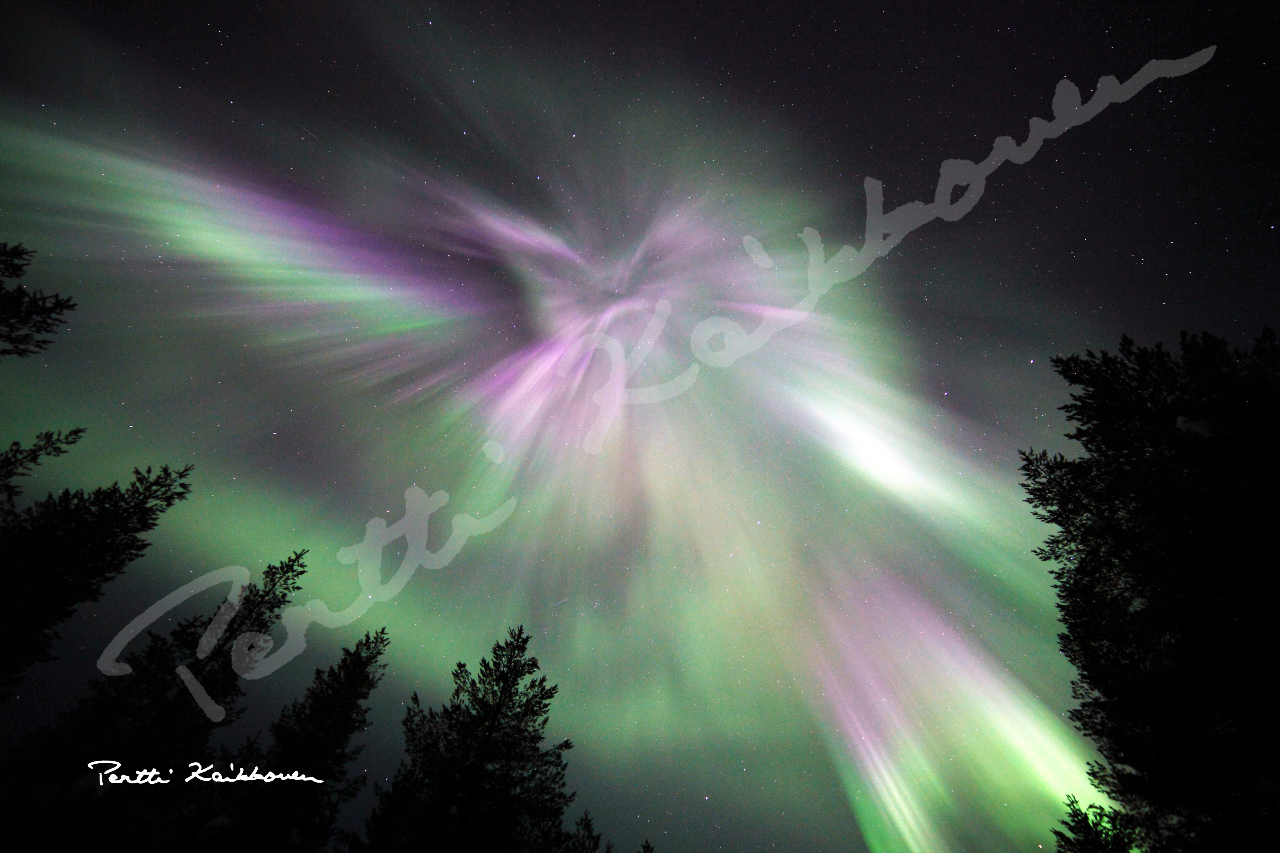 01. Revontulia - Aurora Borealis, kuvatiedostot - digital picture files