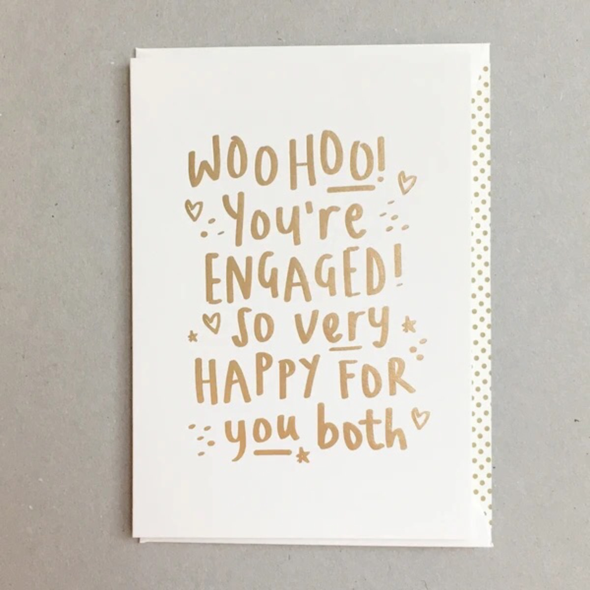 Card Engagement Megan Claire - WooHoo BS19