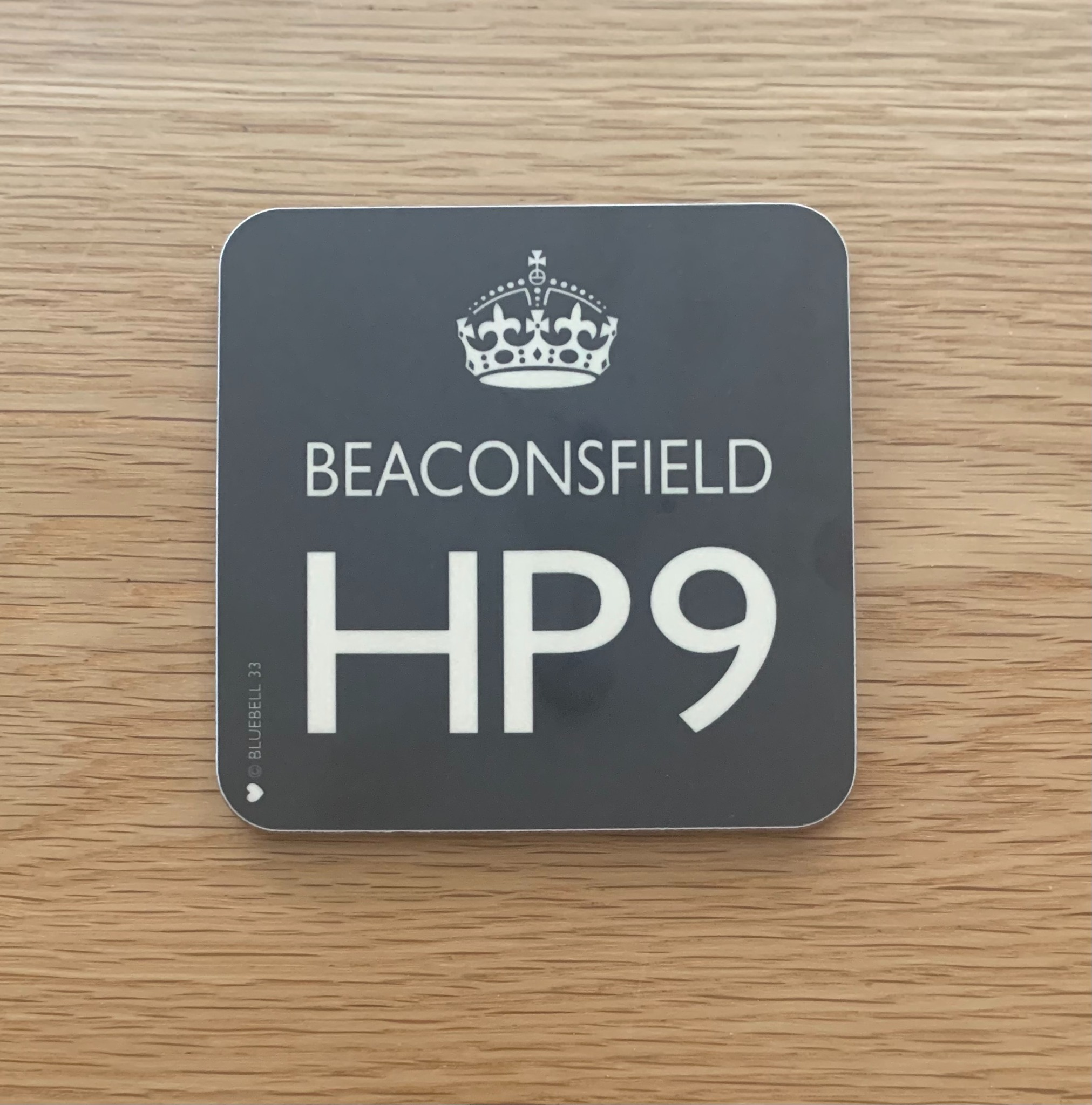 Coaster - Beaconsfield HP9