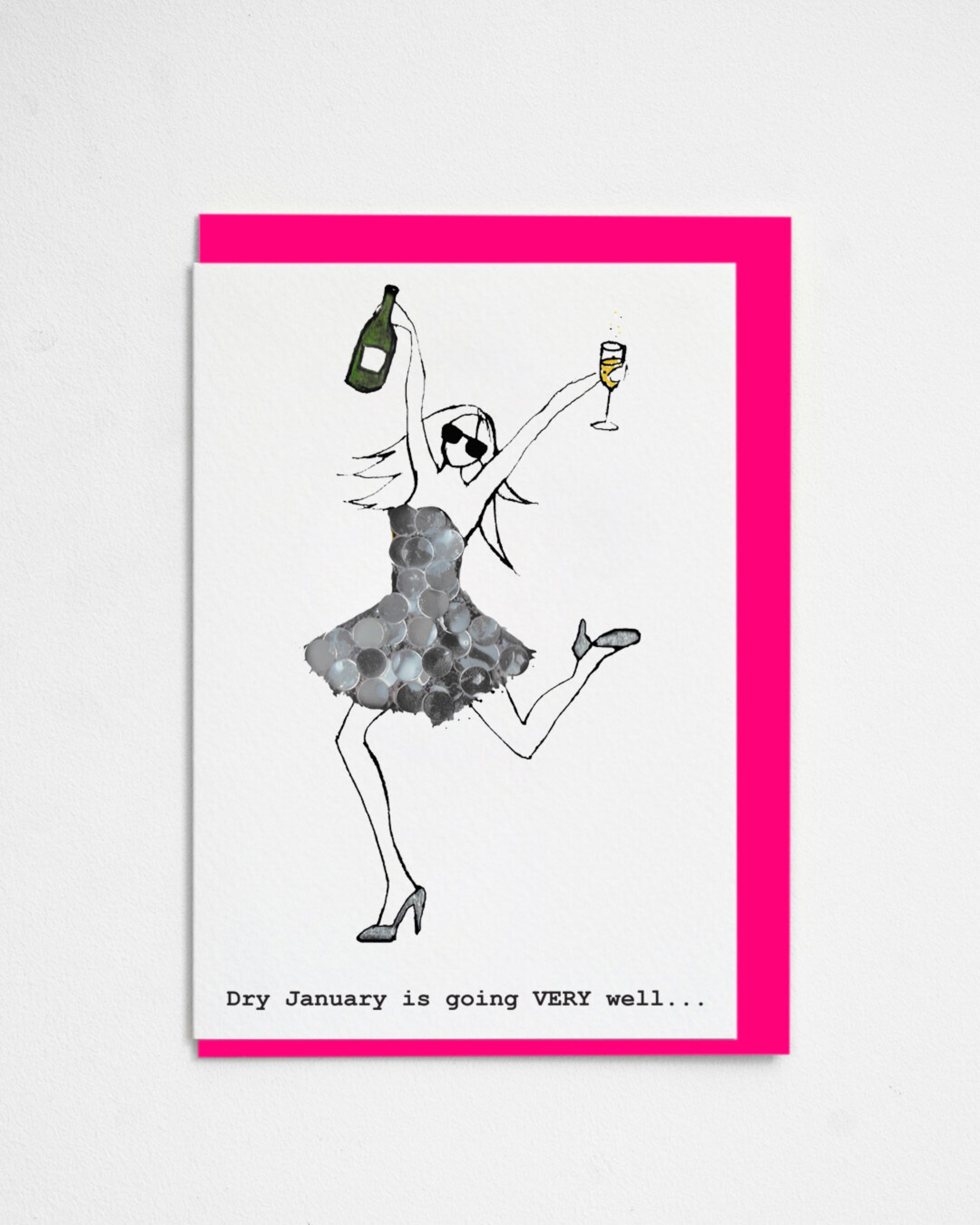 Card Female Proud Couture - Dry January MIV07