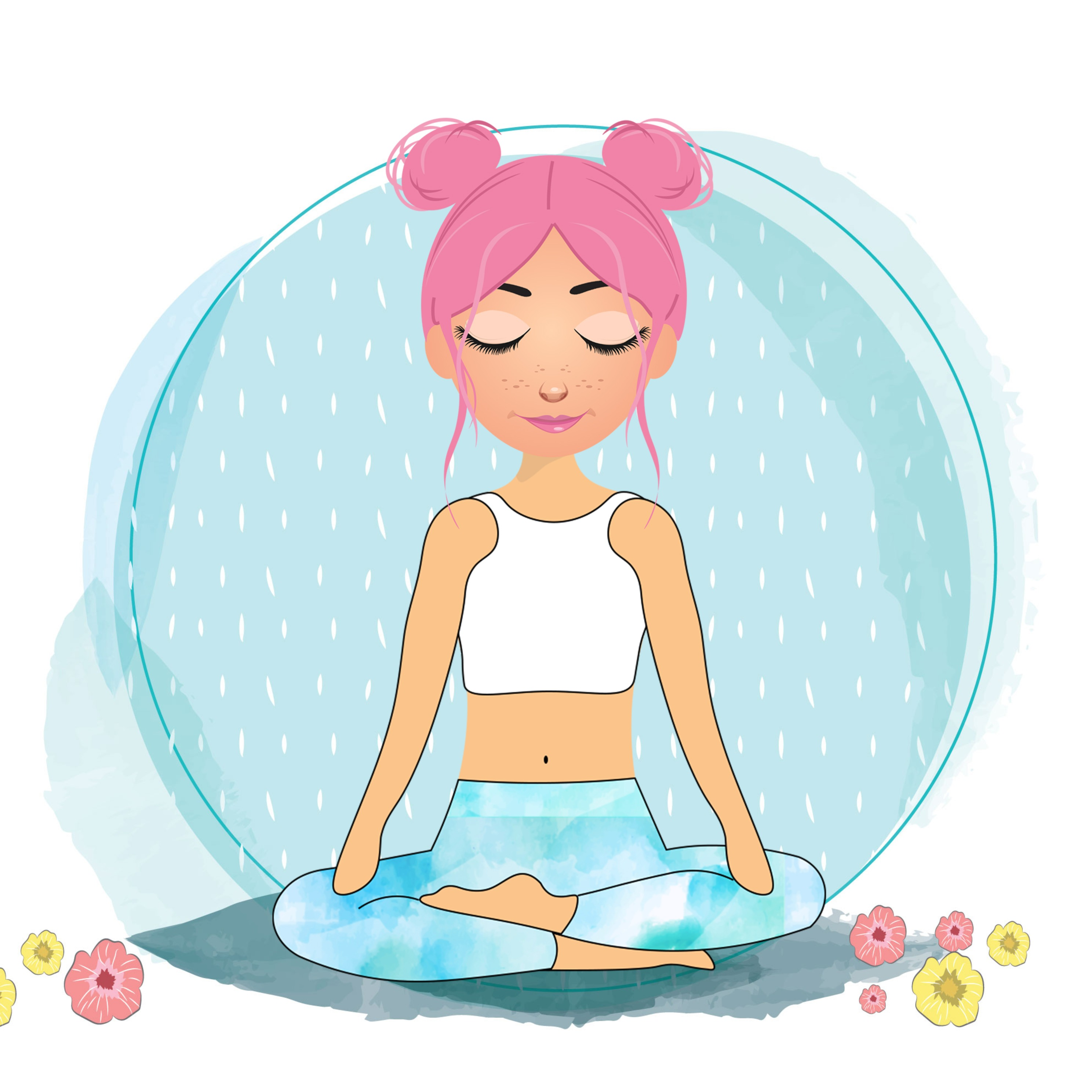 Thoughts On A Cloud - Guided Kids Meditation
