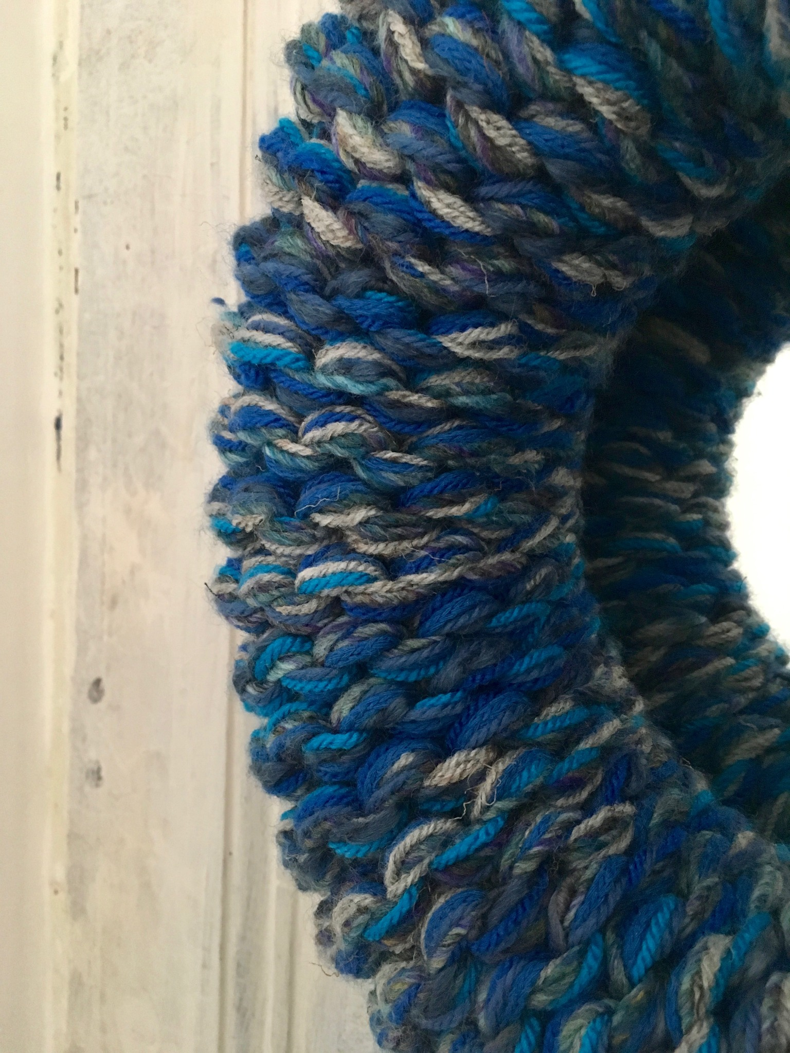 Hand Knitted Mirror