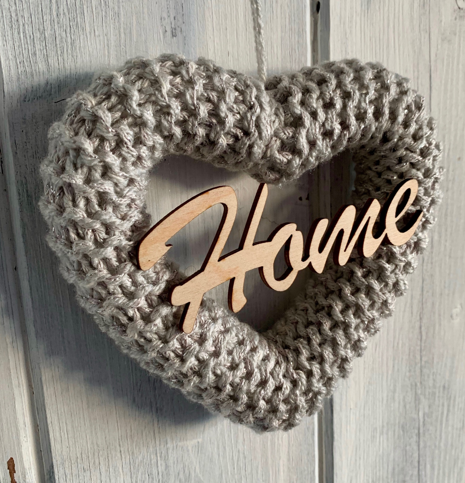 Knitted Home Hearts
