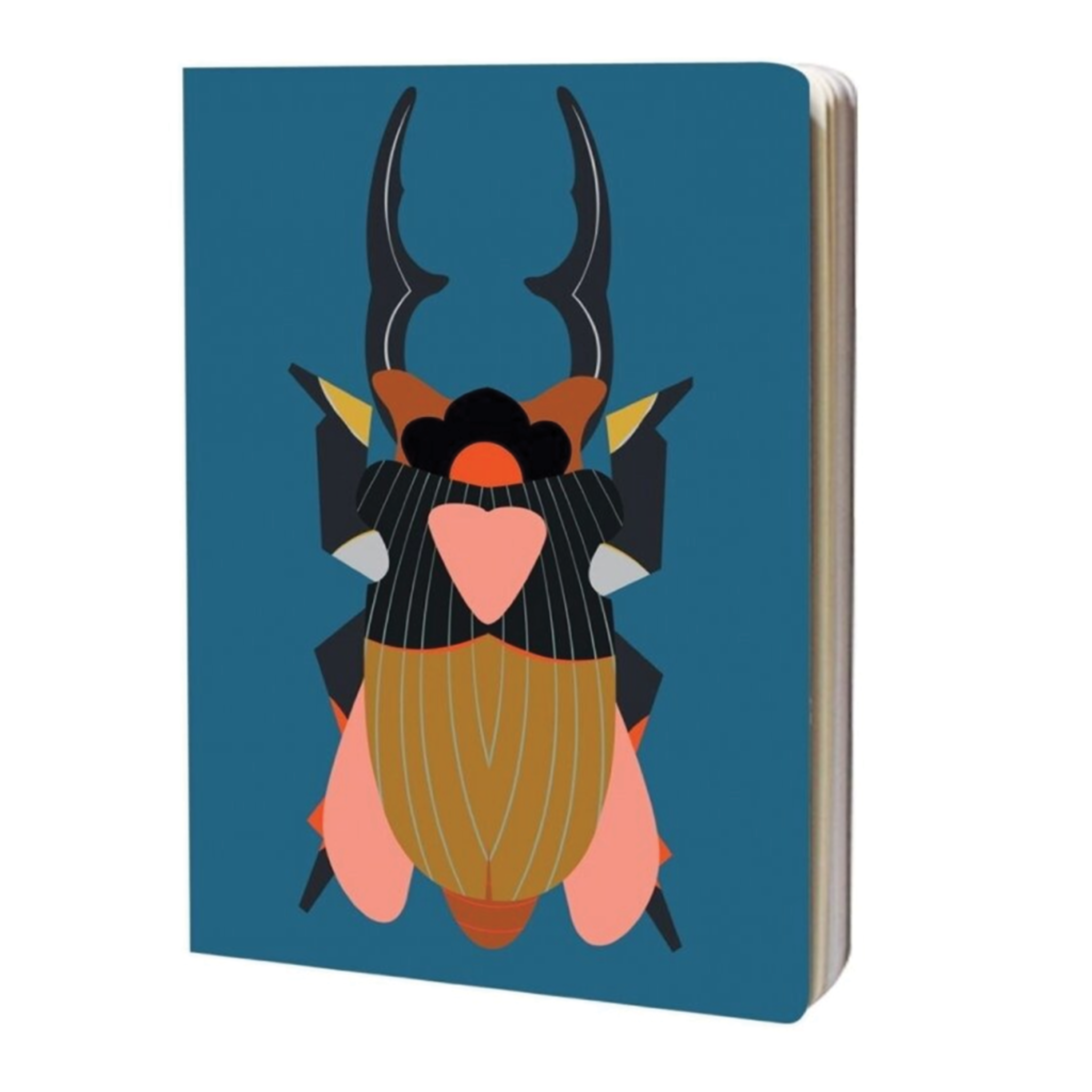 A4 notebook - giant stag beetle