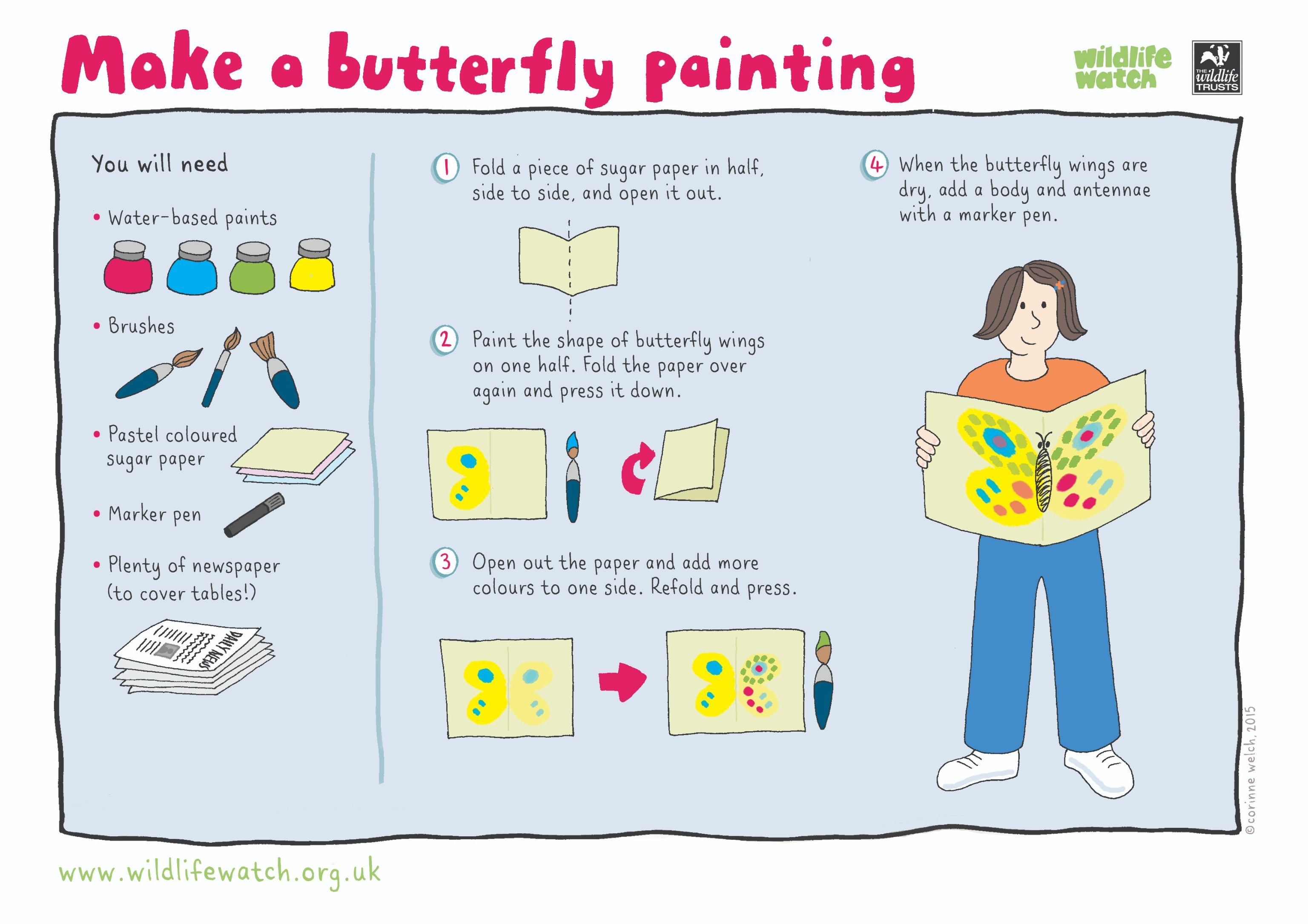 Make a Butterfly Painting