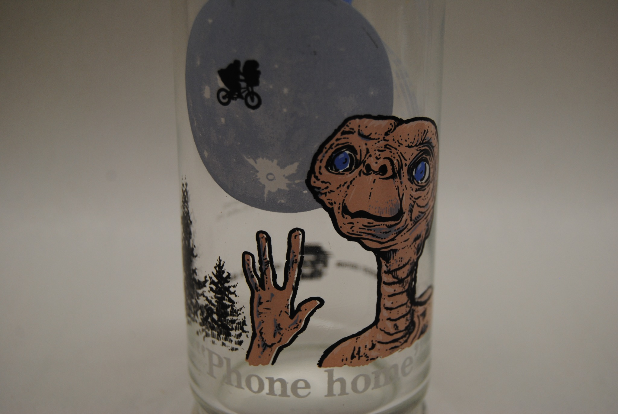 1982 ET Phone Home Collector's Glass (E)