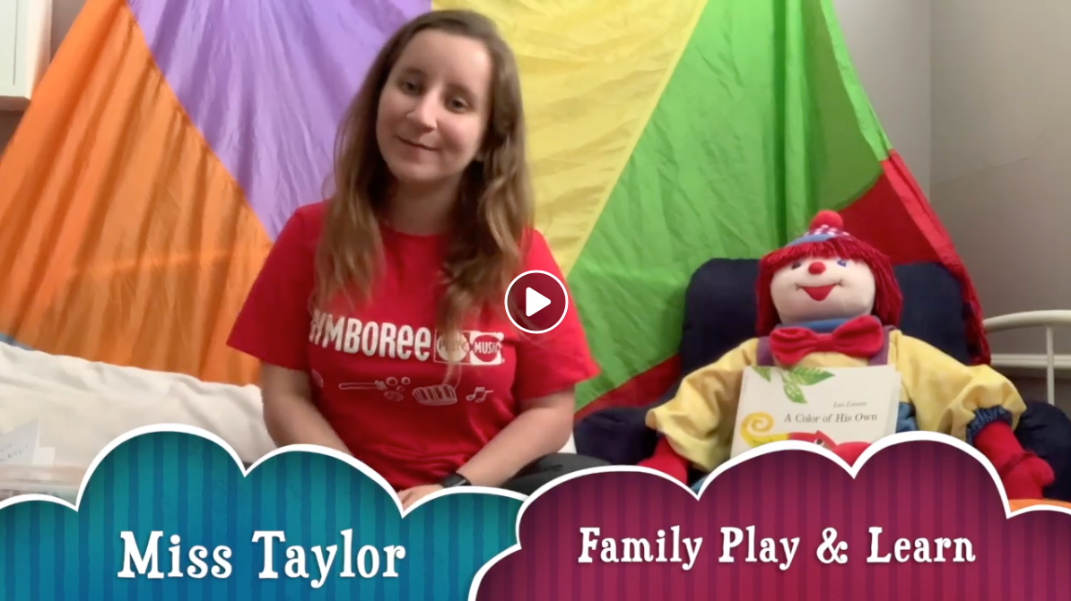 Family Play & Learn Class w/Miss Taylor (4/2) :20min