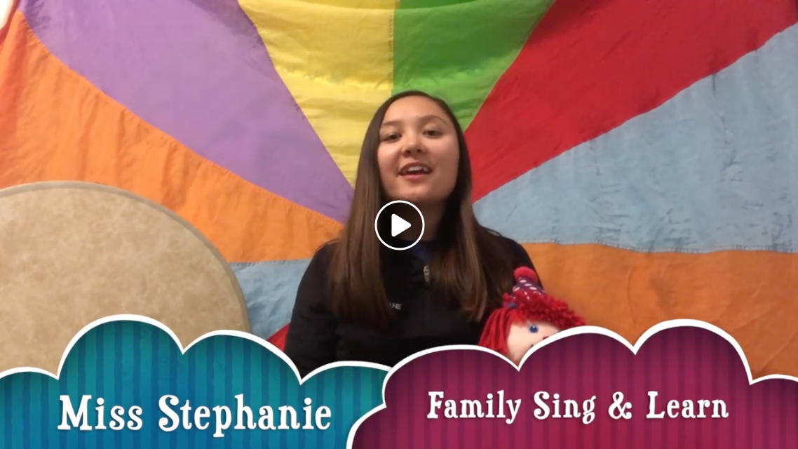 Family Sing & Learn Music Class w/Miss Stephanie (3/27) FREE