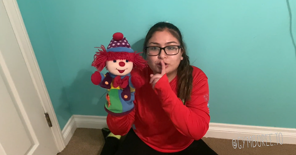 Gymbo the Clown Dance w/ Miss Michelle
