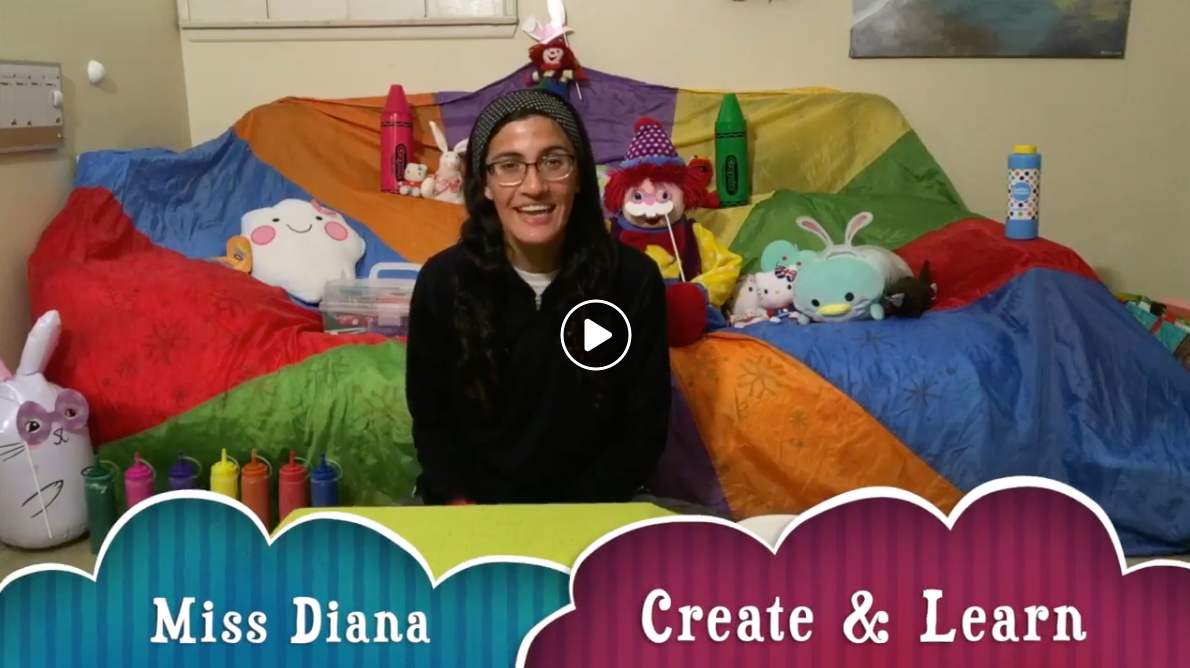 Family Create & Learn Art Class w/Miss Diana (4/7) :36min