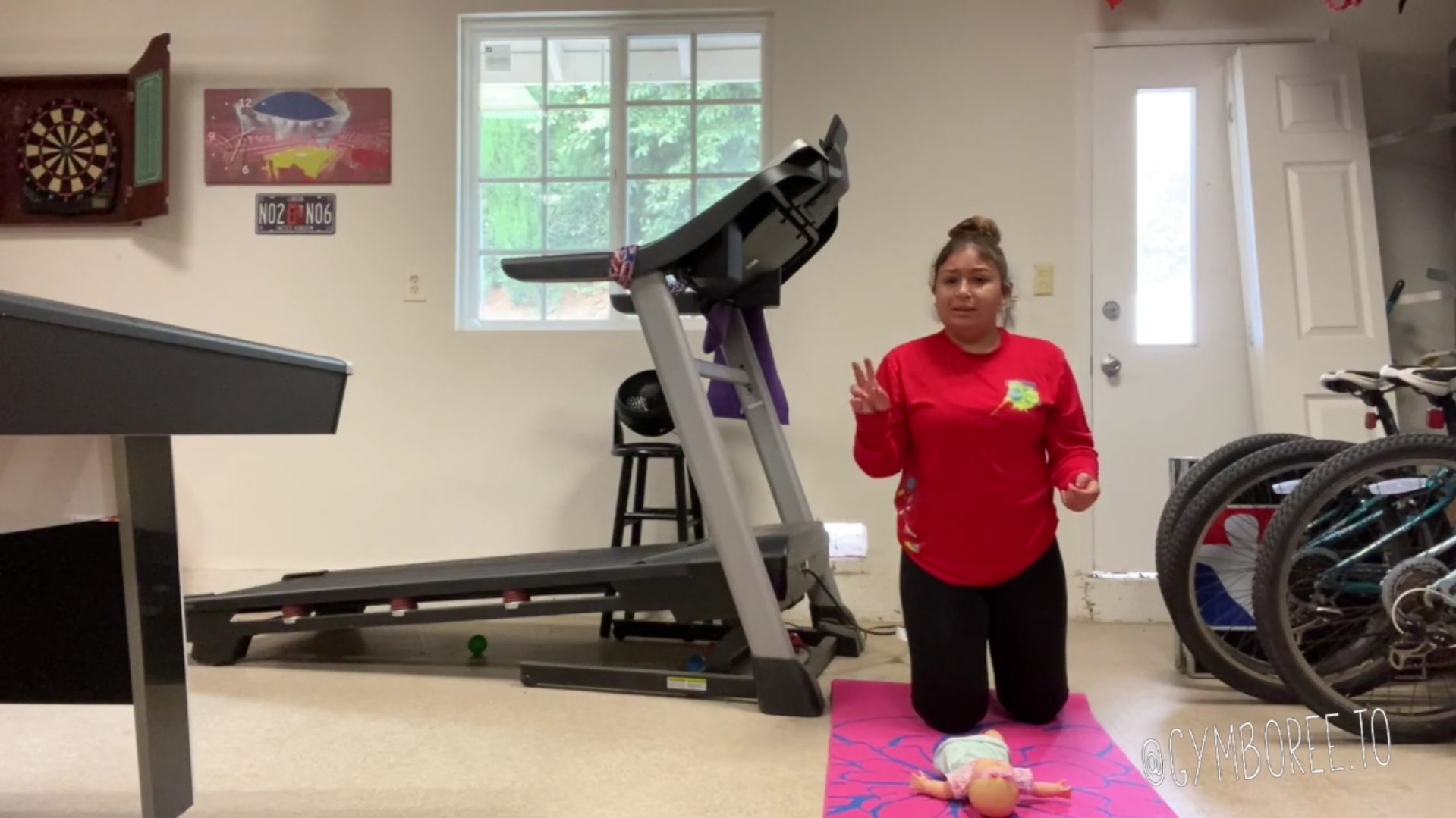 Baby and Me Workout Part 2 w/ Miss Michelle