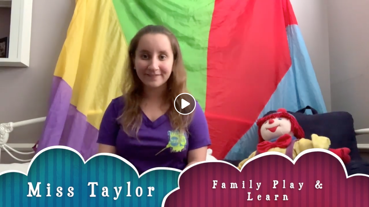 Family Play & Learn Class w/Miss Taylor (3/26) FREE