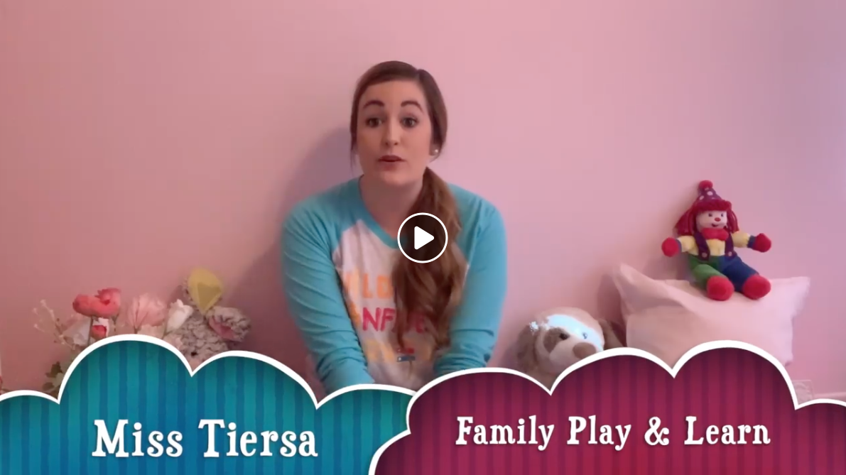 Family Play & Learn Class w/Miss Tiersa (3/30) :32min