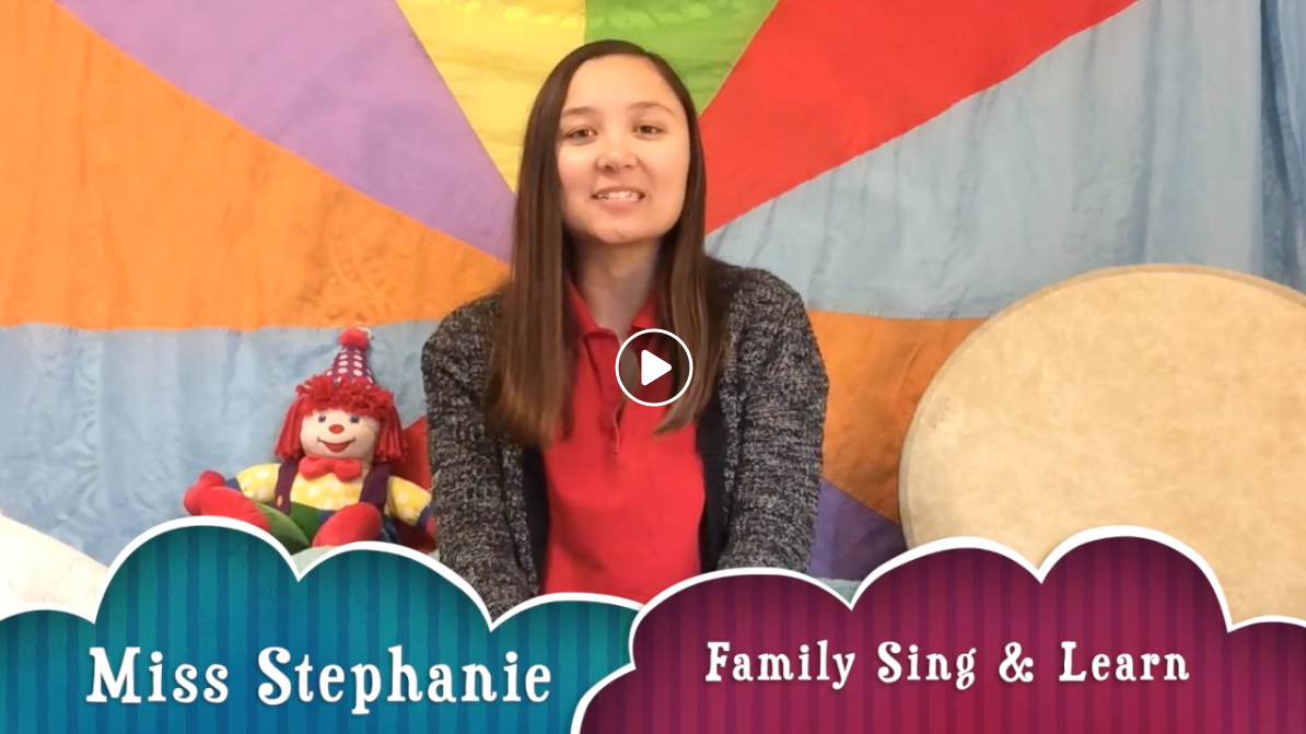 Family Sing & Learn Music Class w/Miss Stephanie (4/3) :30min