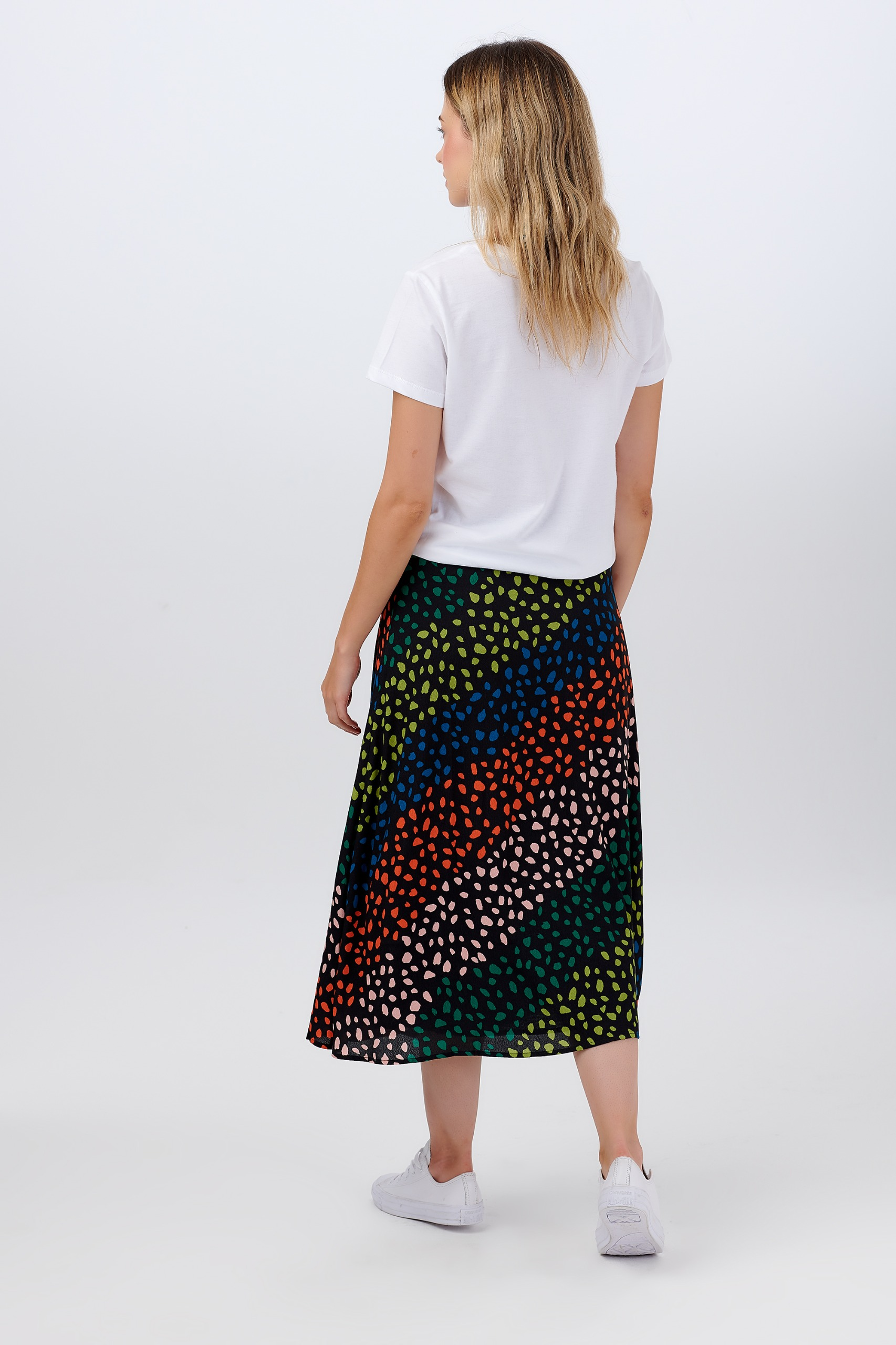 Sugarhill Adelia sea glass print skirt